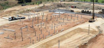 גאו דניה - פרויקט כלונסאות בדחיקה